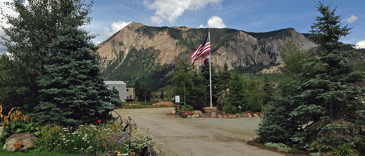 rv park  camping  crested butte  rv resort  fishing
